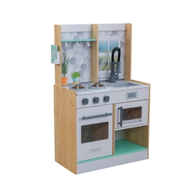 Kidkraft - Barnkök - Lets Cook Play Kitchen - Natural
