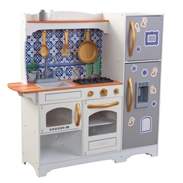 Kidkraft - Barnkök - Mosaic Magnetic Play Kitchen