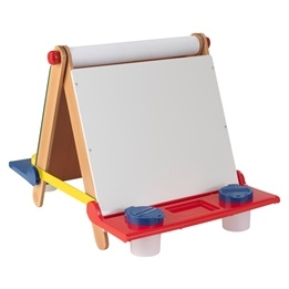 Kidkraft - Tabletop Easel - Natural With Primary