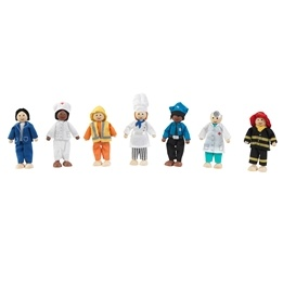 Kidkraft - Dockor - Professional Dolls Set