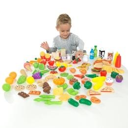 Kidkraft - Kök - DeluxeTasty Treat Pretend Play Food Set