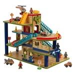 Kidkraft - Wash N Go Wooden Car Garage