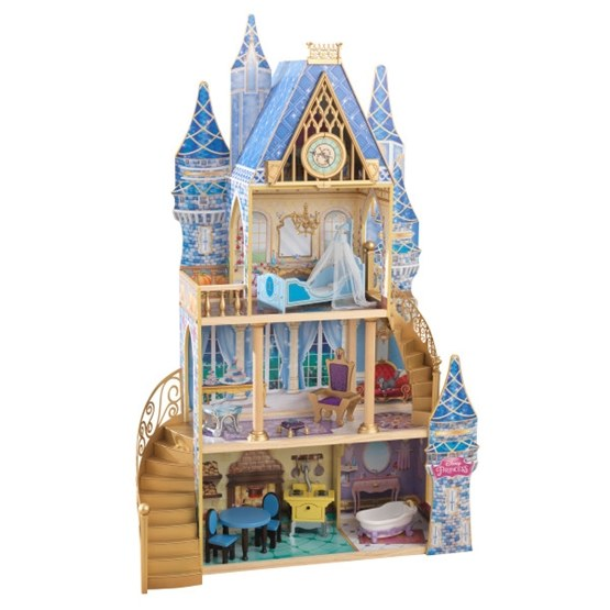 Kidkraft - Dockskåp - Disney Princess Cinderella Royal Dream Dollhouse