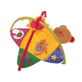 Ks Kids - Babygym - 3-in-1 Bear Playgym