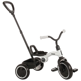 Trehjuling - Tenco - Grå - Ihopfällbar