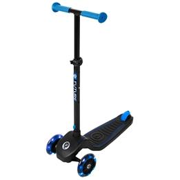 QPlay - Scooter/Kickbike 3 Hjul - Blå