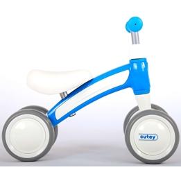 Gåcykel -Qplay - 4 Hjul - Blå
