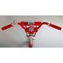 Volare - Lovely 20 Tum - Röd/Vit - 2 Handbromsar