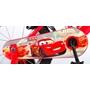 """Disney © - Cars - 14"""" - Stödhjul Och Dubbla Handbromsar - Röd"""