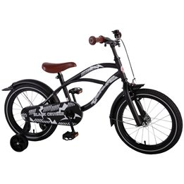 "Volare - Black Cruiser 16"" Boys Bicycle"