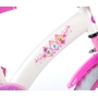 "Volare - Barncykel - Princess 14"" - Rosa/Vit"
