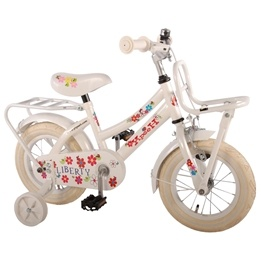 "Yipeeh - Liberty Urban White 12"" Girls Bicycle"