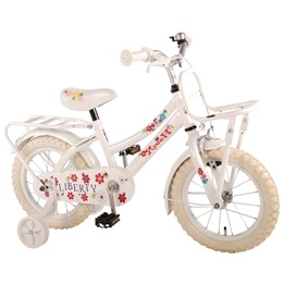 Volare - Yipeeh - Liberty Urban White 14 Inch Girls Bicycle