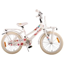 Volare - Liberty Urban Flowerie Wit 18 Inch Girls Bicycle