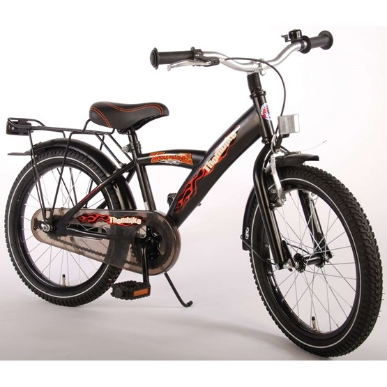 "Volare - Thombike 18"" Boys Bicycle Satin Black"