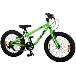 Volare - Fat Bike 20 Inch Satin Green 7 Speed Boys Bicycle