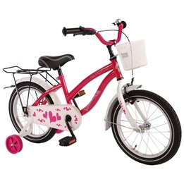 "Volare - Heart 16"" Girls Bicycle"