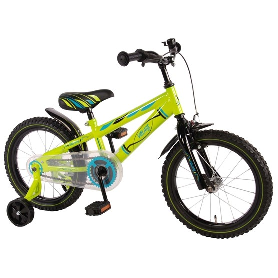 """Volare - Electric Green 16"""" Boys Bicycle"""