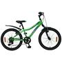 "Volare - Blade 20"" Green 6 Speed Boys Bicycle - 95% Monterad"