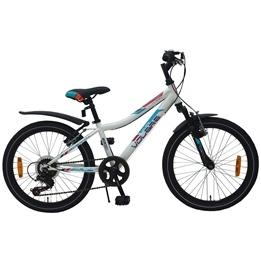 "Volare - Blade 20"" White 6 Speed Boys Bicycle"