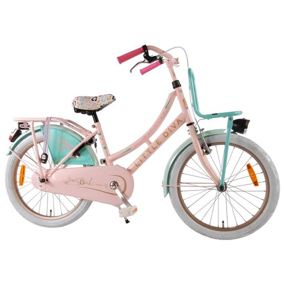 "Little Diva - Dutch Oma 20"" Girls Bicycle"