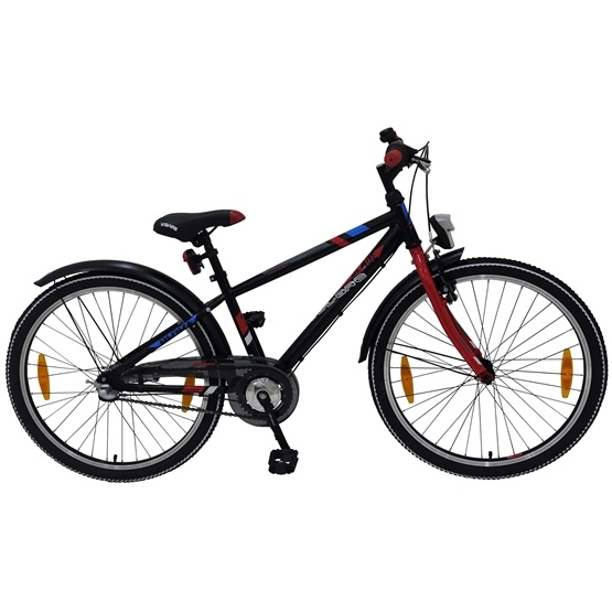 "Volare - Blade 24"" Nexus 3 Boys Bicycle Black"