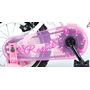 """Yipeeh - Rose 12"""" - Rosa - Stödhjul Med Dubbla Handbromsar"""
