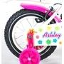 """Yipeeh - Ashley 12"""" - Stödhjul Med Dubbla Handbromsar"""