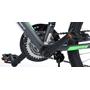 "Volare - Viper MTB 24"" Tourney TZ 18 Speed - Mat Black"