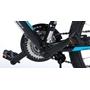 "Volare - Viper MTB 24"" Tourney TZ 18 Speed - Black"