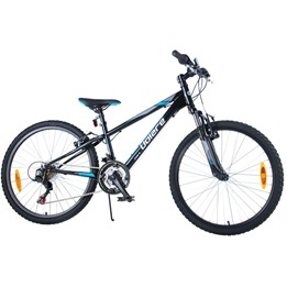 "Volare - Viper MTB 24"" Tourney TZ 18 Speed - Black"