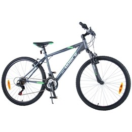 "Volare - Viper MTB 26"" Tourney TZ 18 Speed - Mat Black"
