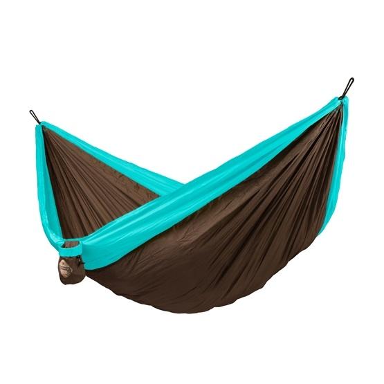 La Siesta - Hängmatta - Dubbel - Resehängmatta - Colibri Turquoise