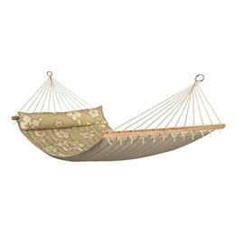 La Siesta - Hängmatta - Dubbel - Träkarm - Hawaii Coconut