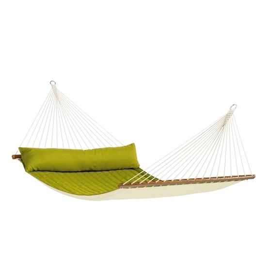 La Siesta - Hängmatta - Dubbel - Träkarm - Alabama Avocado
