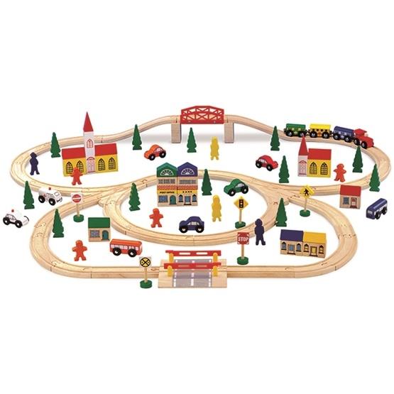 Legler - Tågbana - Wooden Railway Large