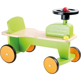 Small Foot - Gåbil - My First Tractor Ride-On Toy