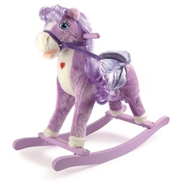 Small Foot - Gunghäst - Purple Pony Rocking Horse