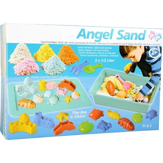 Legler - Kinetic Sand - Allsorts Kinetic Sand With Toy Set