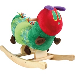 Small Foot - Gunghäst - The Very Hungry Caterpillar Rocking Animal
