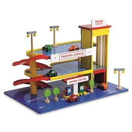 Legler - Parkeringsgarage - Multi-Storey Car Park - Coloured
