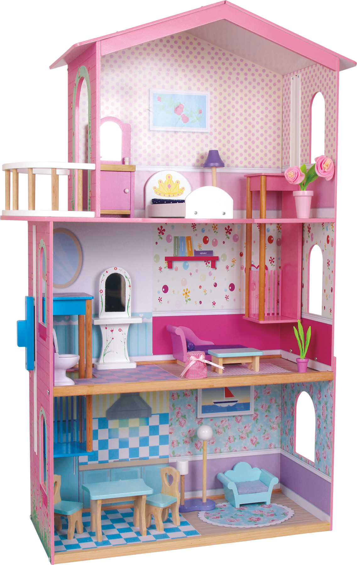 Small foot docksk p doll s house sophia for Sophia house