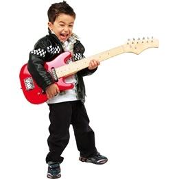 Legler - Gitarr - E-Guitar Röd