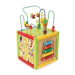 Small Foot - Aktivitetskube - Activity Cube - Large