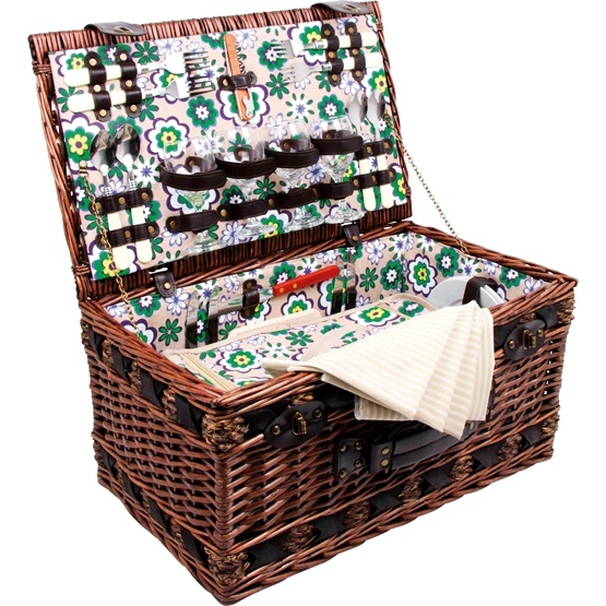 Small Foot - Picknickkorg - Picnic Basket Deluxe