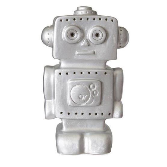 Egmont Toys - Lampa Robot - Silver