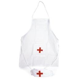 Egmont Toys - Sjuksköterskeförkläde Med Hätta