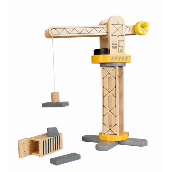 Egmont Toys - Lyftkran I Trä