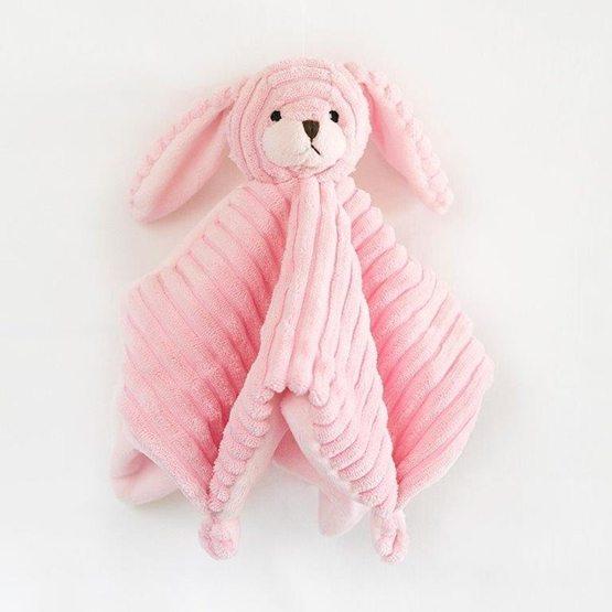 Leklyckan - Kanin Småvänner - Snuttefilt Rosa
