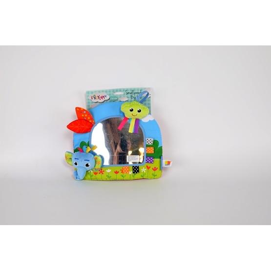 Leklyckan - Spegel Elefant - Blå